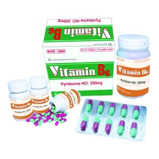 Vitamin B6 ( 250 mg cap)