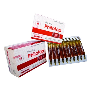 Ống uống philatop ( hộp 50 ống )